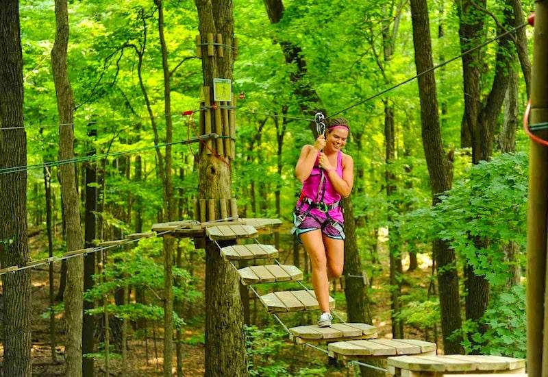 Go Ape Treetop Adventure Raleigh NC