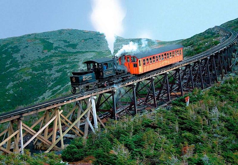 Mt Washington Cog Railway NH
