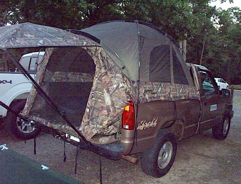 Napier Full Size Sportz Truck Tent with Rain Fly