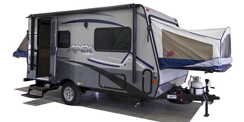 2021 Coachmen Apex Nano 15X expandable hybrid camper trailer