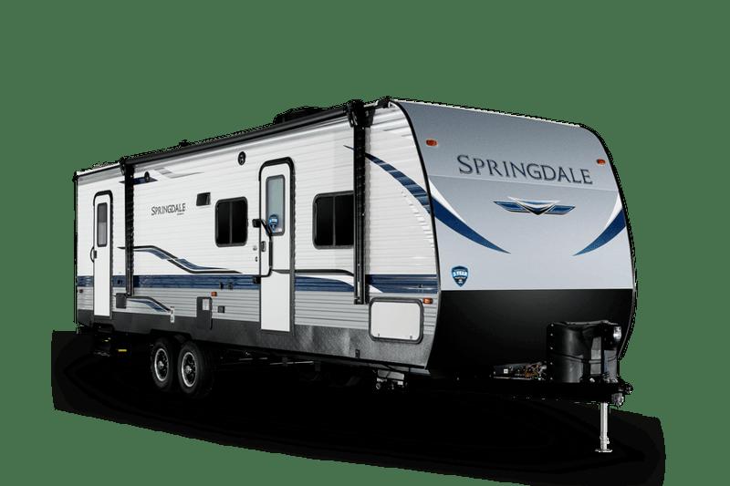 Best Camper Trailer Without Slideouts Keystone Springdale Ext