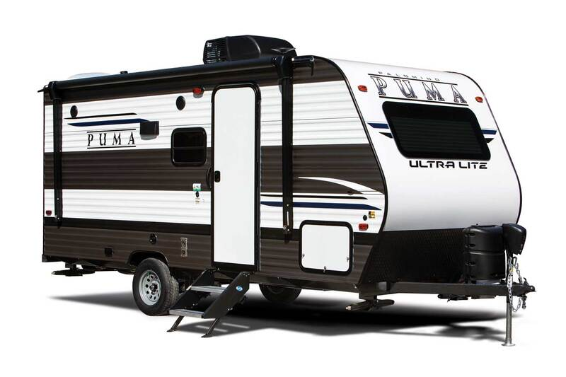 Best Camper Trailer Without Slideouts Palomino Puma 12FBX Ext
