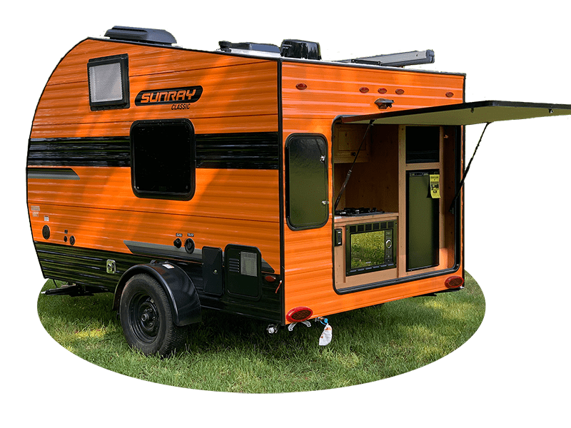 Best Camper Trailer Without Slideouts Sunset Park Sunray Ext