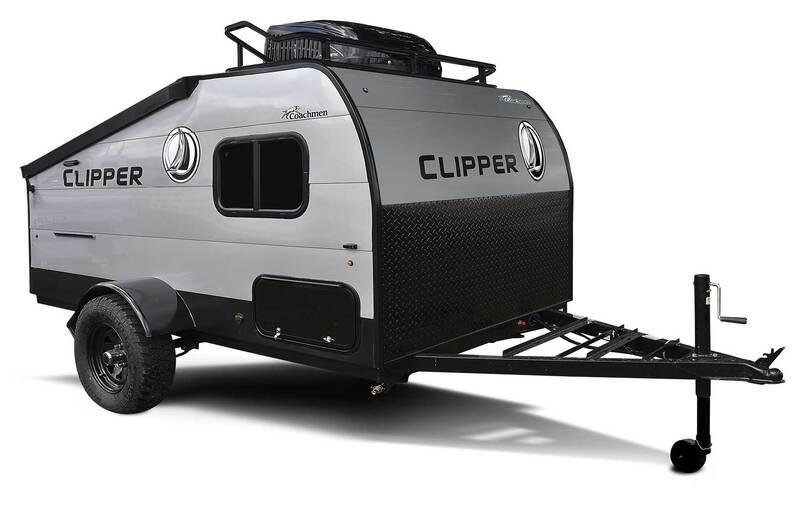 Best Expandable Hybrid Trailers Coachmen Clipper LS Ext