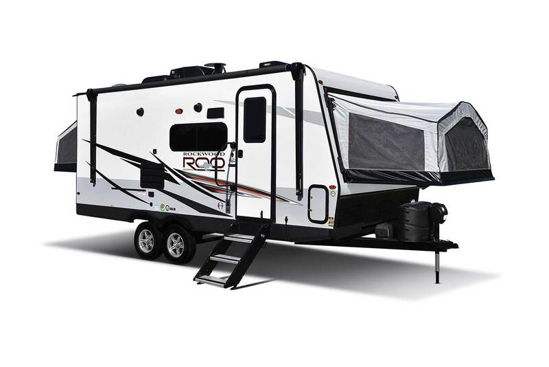 Best Expandable Hybrid Trailers Forest River Rockwood Roo Ext