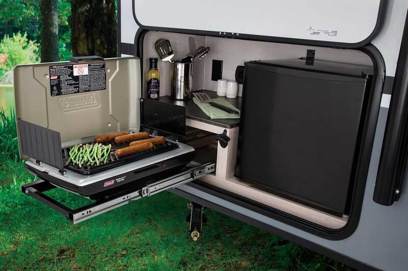Coachmen RV Apex Nano Best Travel Trailers Outdoor Kitchen Ext 2