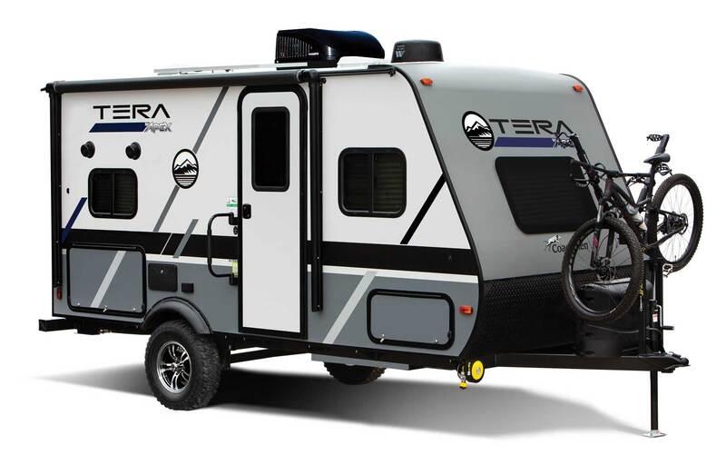 Coachmen RV Apex Nano Best Travel Trailers Outdoor Kitchen Ext