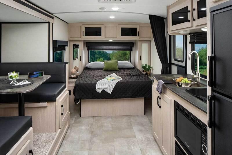 Coachmen RV Apex Nano Best Travel Trailers Outdoor Kitchen Int
