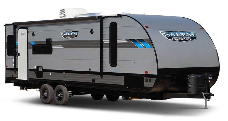 Forest River RV Salem Cruise Lite Best Travel Trailers Outdoor Kitchen Ext