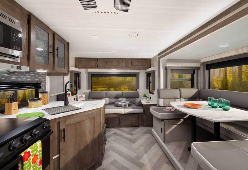 Forest River RV Salem Cruise Lite Best Travel Trailers Outdoor Kitchen Int