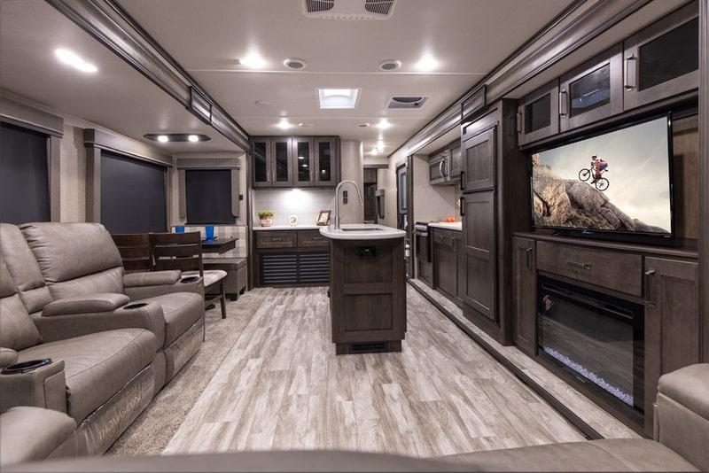 Grand Design Reflection Best Travel Trailers Outdoor Kitchen Int