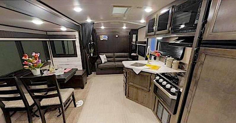 Jayco White Hawk 24MBH interior