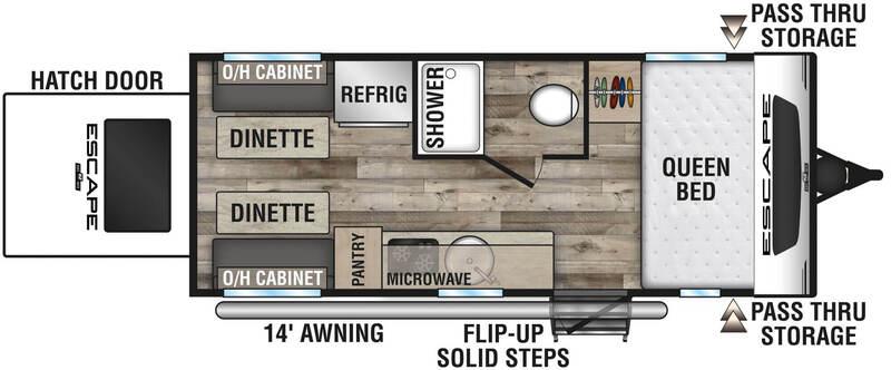 KZ Escape E17 Floor Plan