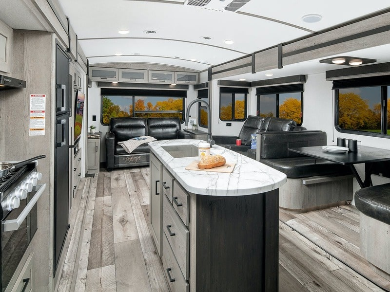 Keystone RV Outback Ultra Lite Best Travel Trailers Outdoor Kitchen Int