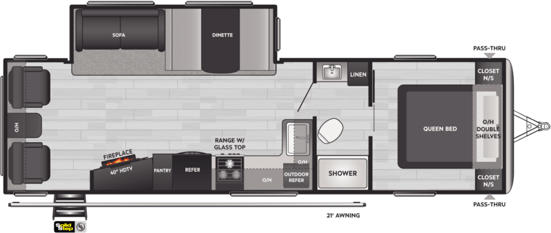 Keystone RV Springdale Floor Plan
