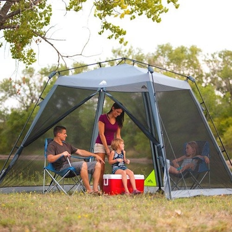 Ozark Trail Instant Screen house for camping