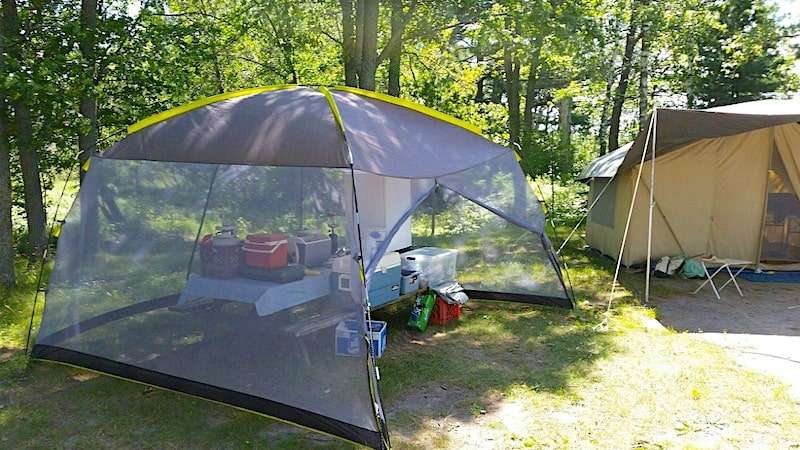 Quest 12 X 12 Mesh Screen House Canopy Tent