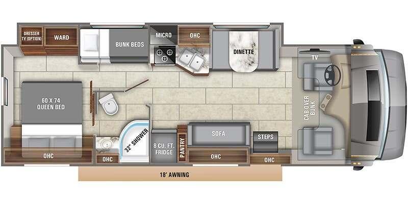 Entegra Odyssey Floor Plan
