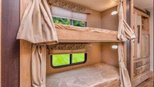 class c motorhome with bunk beds