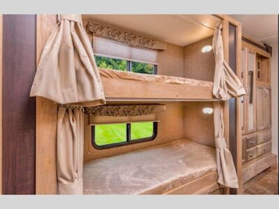class c motorhome with bunk beds