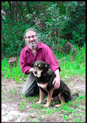 Brian Newman and dog