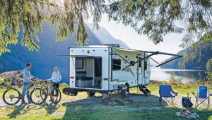 Camper Trailers Without Slide Outs