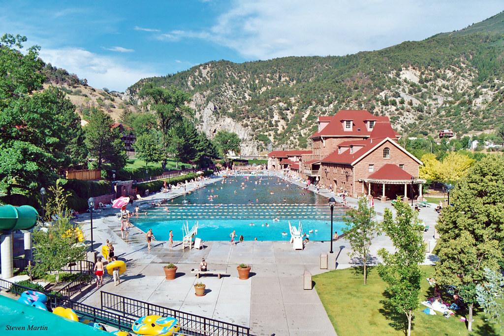 Dip in the Hot Springs in Glenwood Springs Bucket List Item Colorado