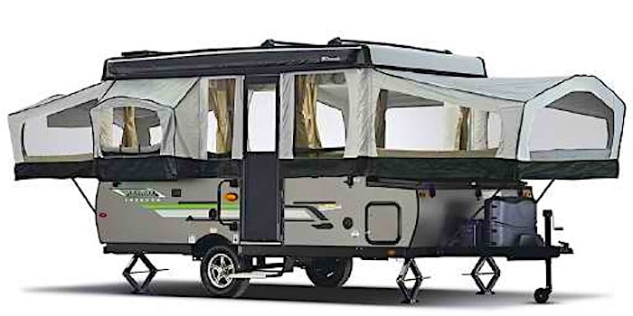 Popup camper model numbers and letters