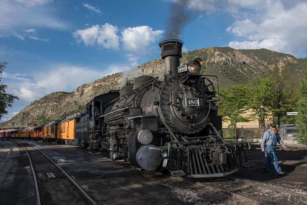 Ride the Durango and Silverton Narrow Gauge Railway Colorado bucket list things to do