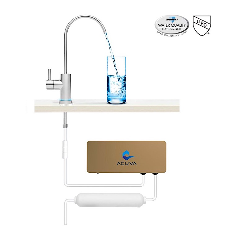 How Does Acuva Water Purification System Work in RV Motrohome or camper