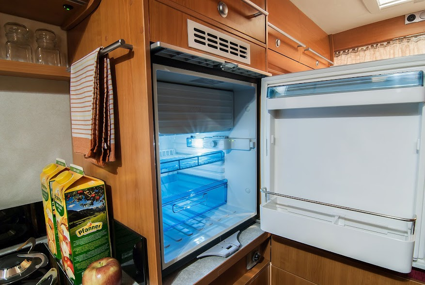Avoid Small Campers that Have a Small Fridge