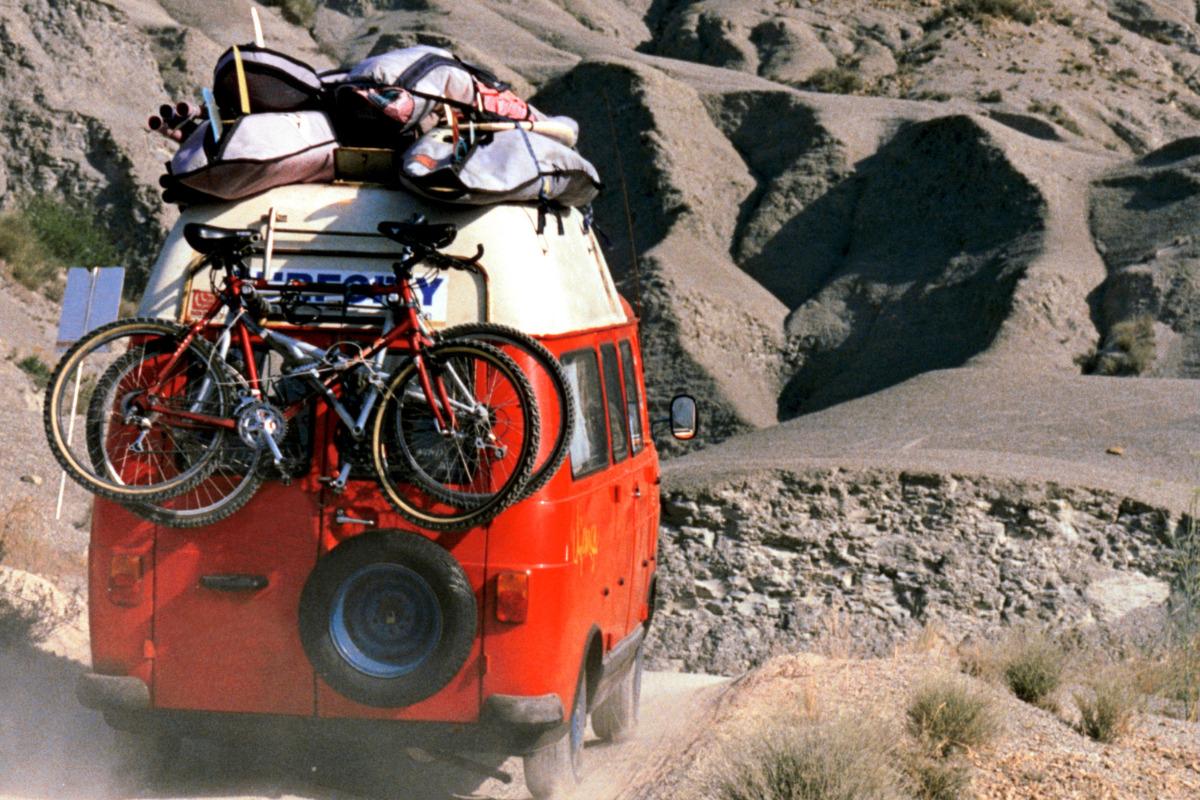 campervan full of accessories