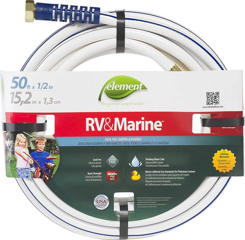 6. Element Marine and RV Water Hose