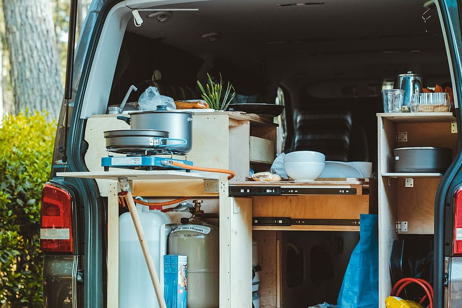 Avoid Small Trailers that Have Little to No Kitchen Space