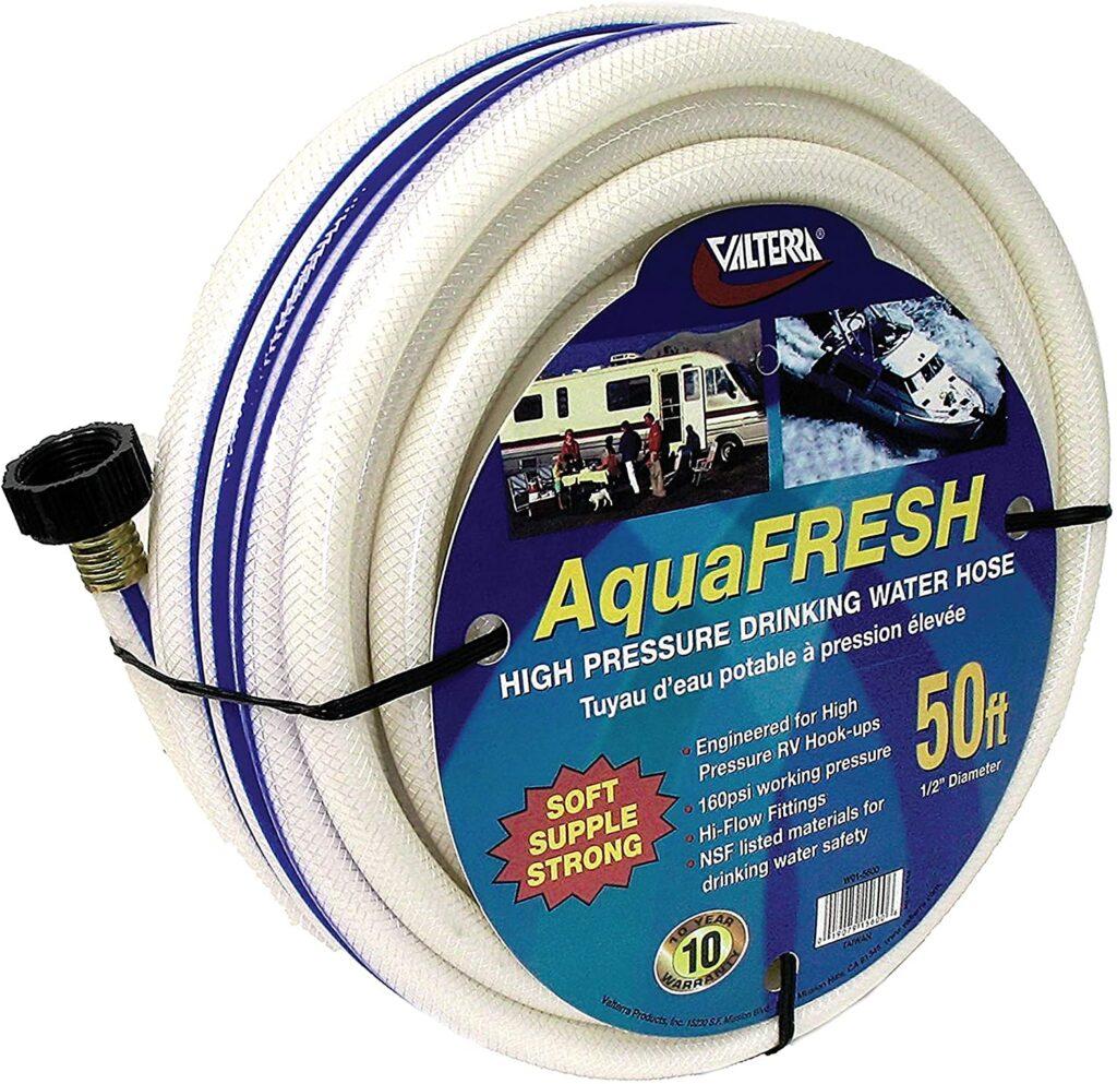 Valterra AquaFresh High Pressure Drinking Water Hose