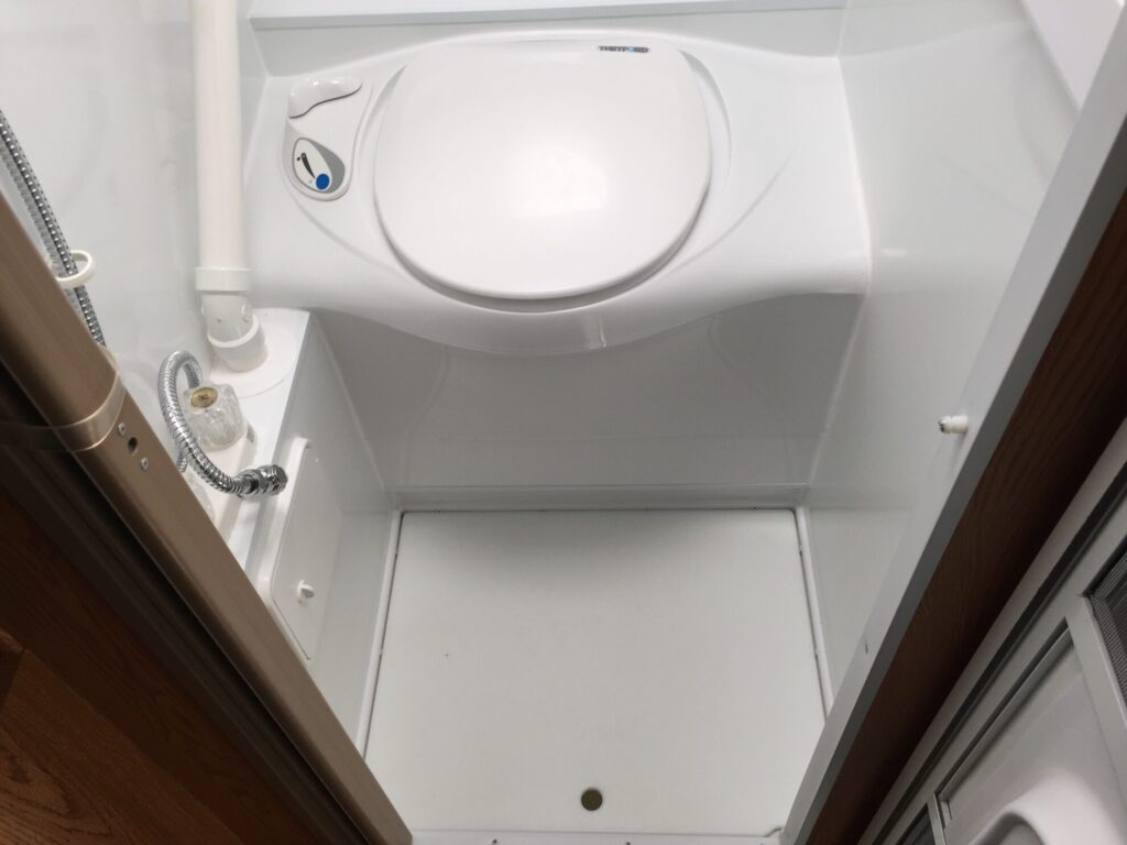 Avoid Small Travel Trailers that Have Small Bathrooms or No Bathroom