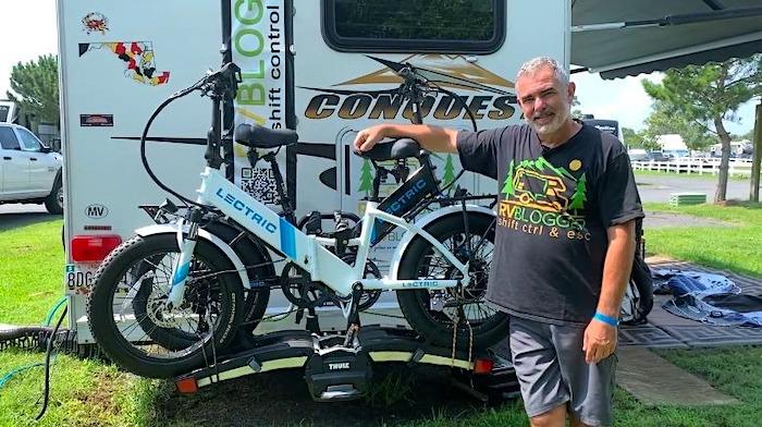Must Have Campervan Accessories thule bike rack