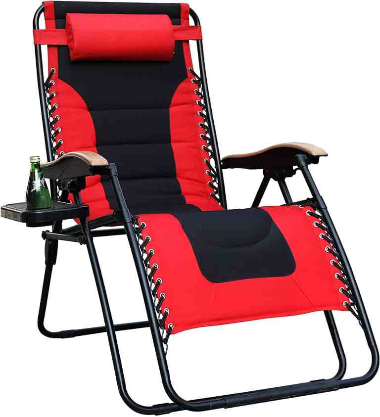oversized camping chair lounger