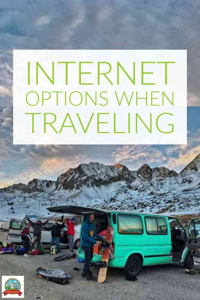 internet options when traveling in your RV