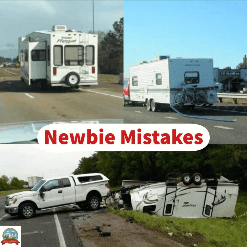 RV Newbie Mistakes, pics of rv accidents
