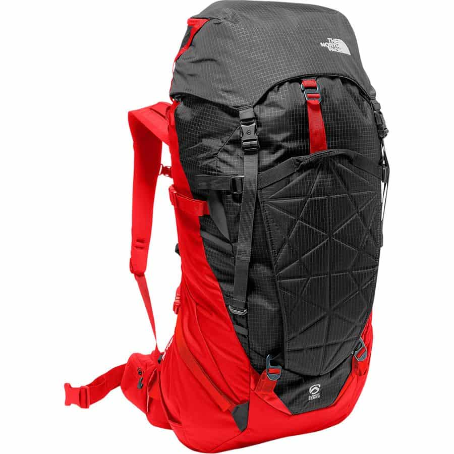 northface backpack camping
