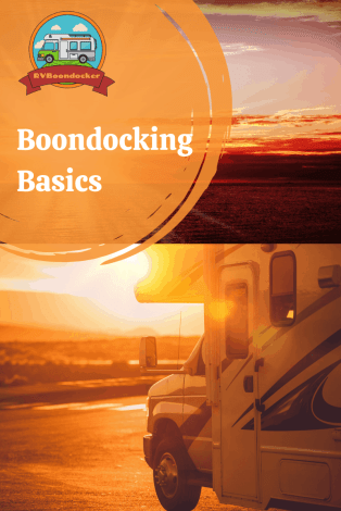 Boondocking basics for RV camping off grid