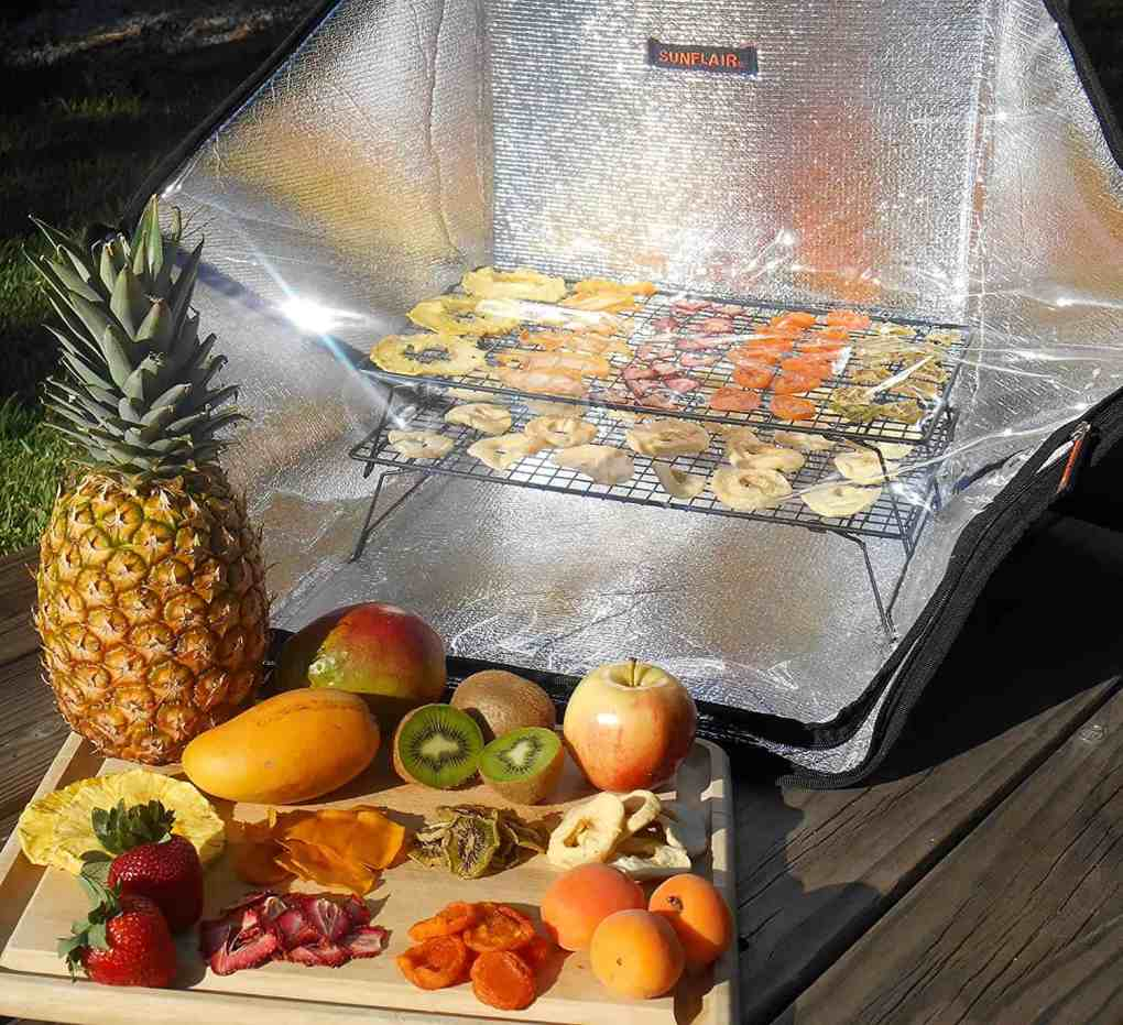 solar oven for boondocking and dry camping