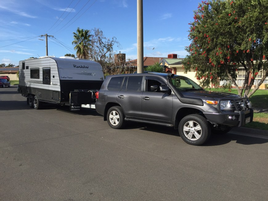 image our rig without weight distribution hitch
