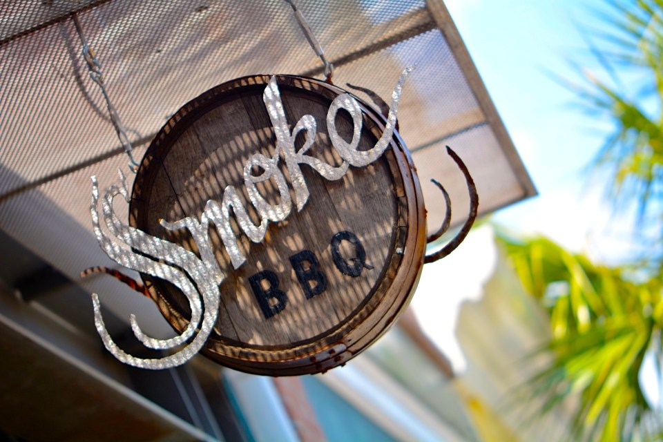 Smoke BBQ Sign