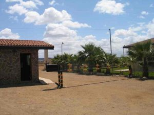Los Olivos Gated Entrance