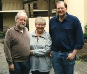 Gene and Leveda Troy with Paul. The first married couple to train in remote viewing