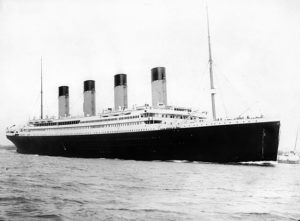 RMS Titanic on her maiden (and only) voyage