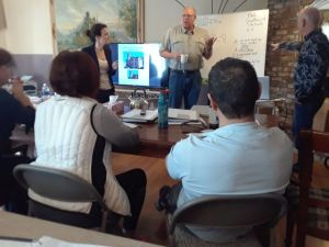 First day of the Russian remote viewing class