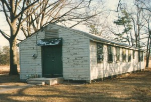 Building T-2560, the remote viewing operations building